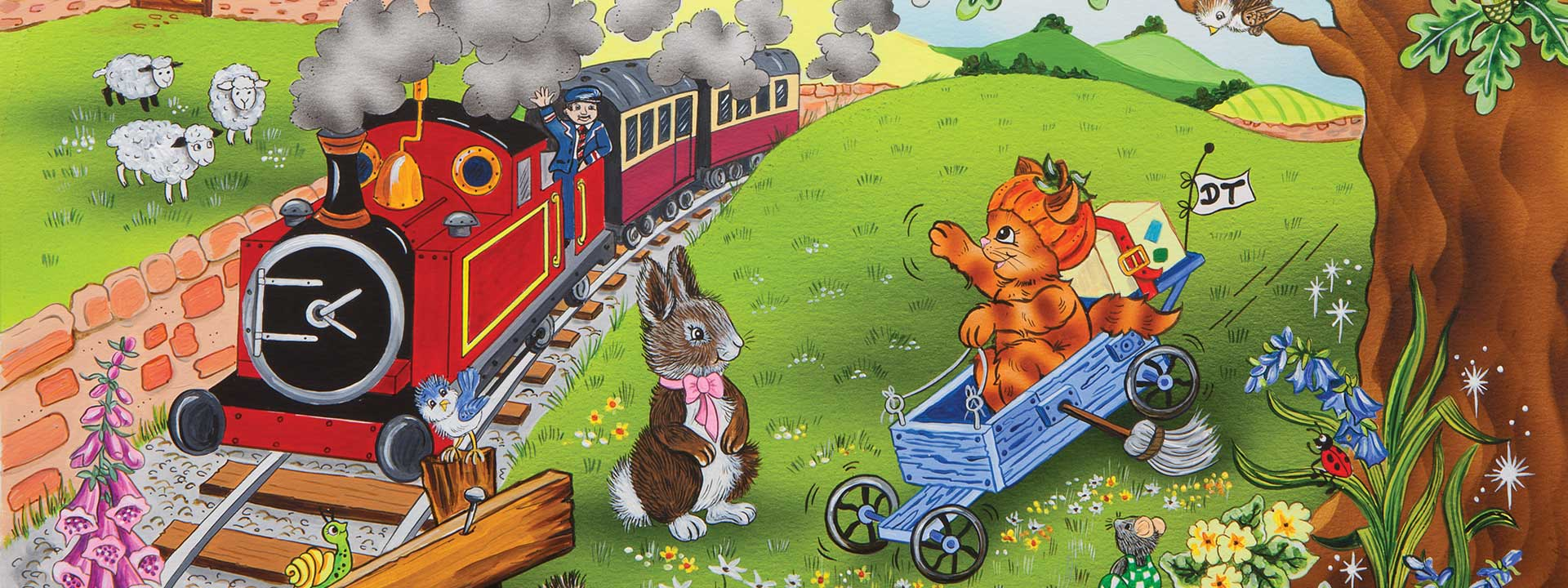 BTFD Train and animals